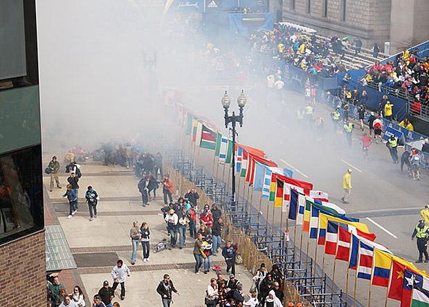 Взрывы на Бостонском марафоне