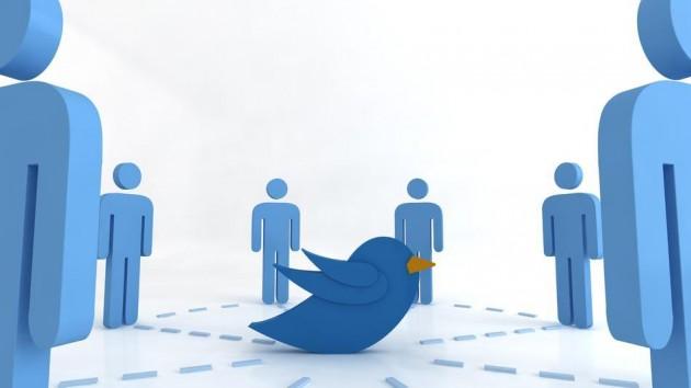 Твиттер для общения с друзьями