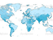Карта твиттера