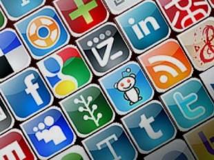 кнопки соцсетей