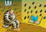 За угрозы в Twitter можно попасть тюрьму на 3 месяца