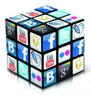 Социальные сети в том числе являются