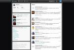 И ещё одно мнение о новом дизайне Твиттера